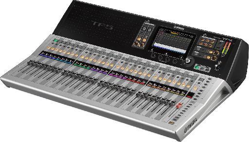 Yamaha TF5 digital mixer.