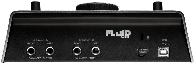 Fluid Audio SRI-2 rear view