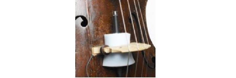 One option for miking upright bass