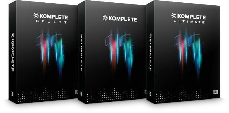 The NI Komplete 11 range: Select,