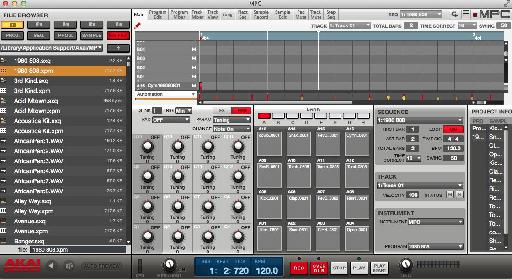 MPC Studio software