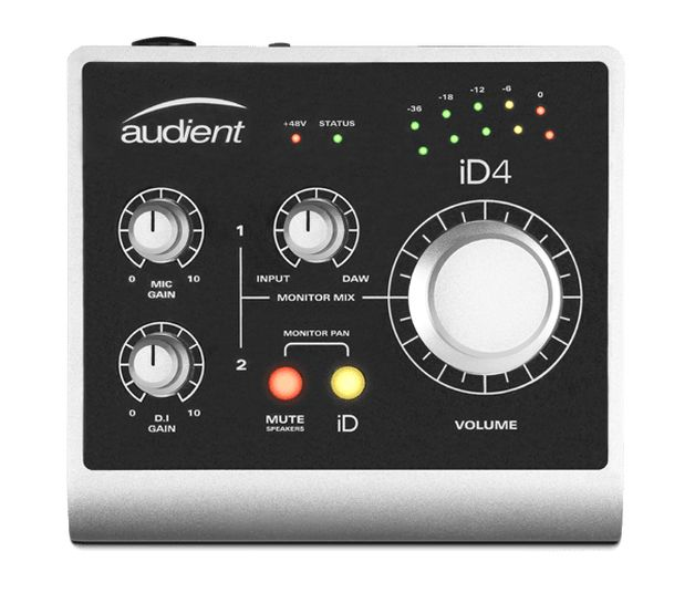 Audient iD4 controls