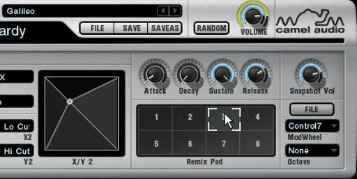 ... and here's what the Remix Pads in Camel Audio's Alchemy looked like.