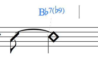 Bb7(b9)