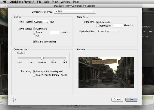 QuickTime 7 Pro 2