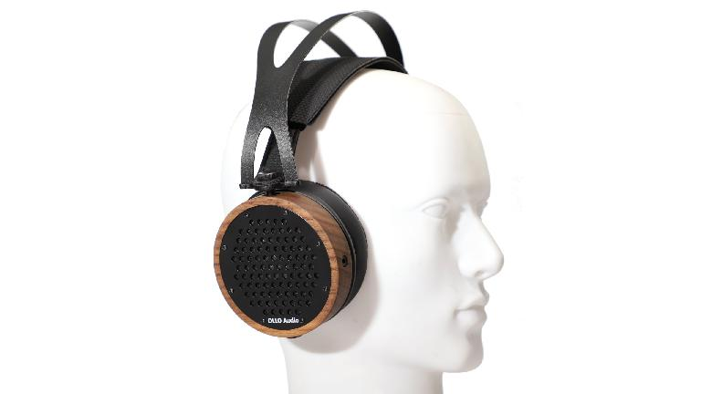 OLLO Audio SX4 reference headphones on head