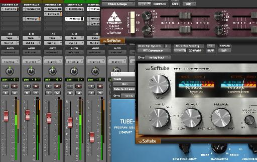 Softube plug-ins in Pro Tools 11
