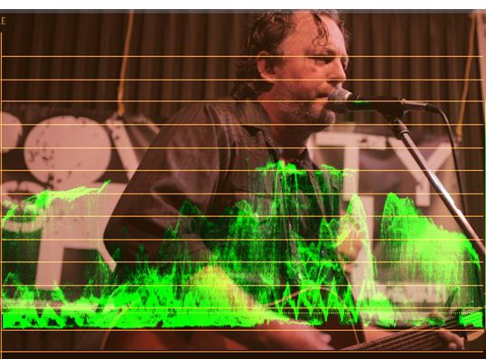 waveform overlay