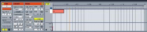 A MIDI Clip