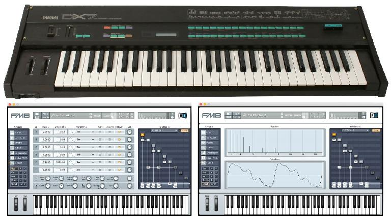 Instruments that employ FM synthesis