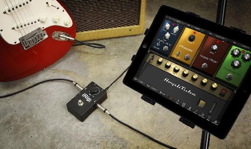 iRig Stomp in a Live situation