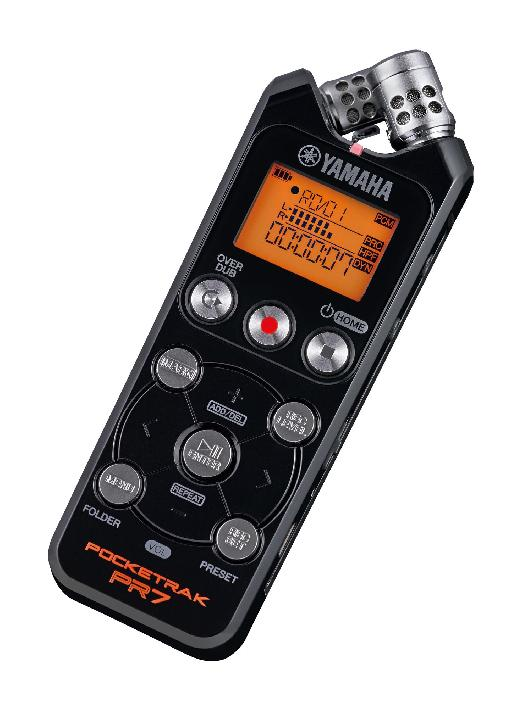 A solid state recorder is a good way to capture externally recorded sound.