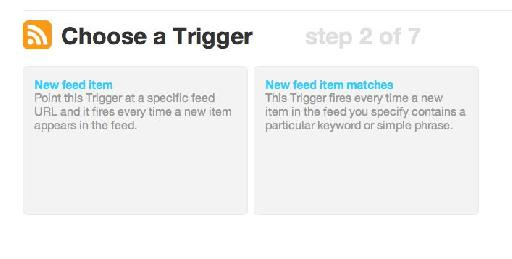 Tap 'New Feed Item'.