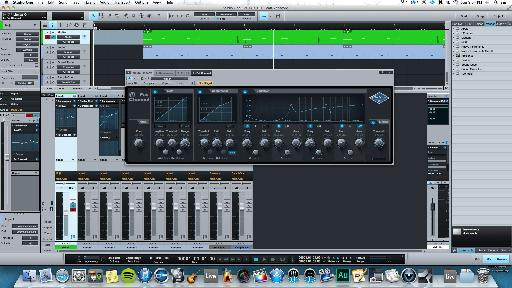 Fat Channel - 5 of the most important dynamic and overall sound '˜tweaks' in one single monster plug-in.