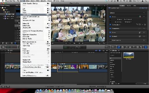 FCP Selected Clips and Copy