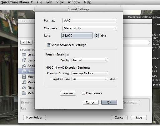 QuickTime 7 Pro 3