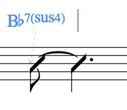 Bb7(sus4)