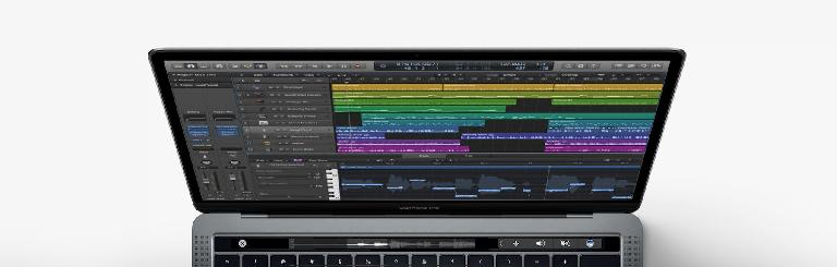 Apple MacBook Pro with Touchbar.