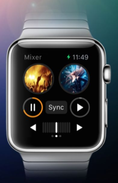Trust Algoriddm to have a DJay 2 controller app available for Apple Watch on the day of launch!
