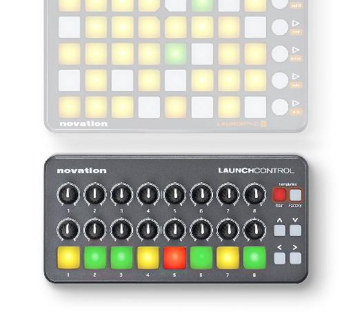It's designed to partner with the Launchpad or Launchpad Mini and add knobs to your arsenal of controls.