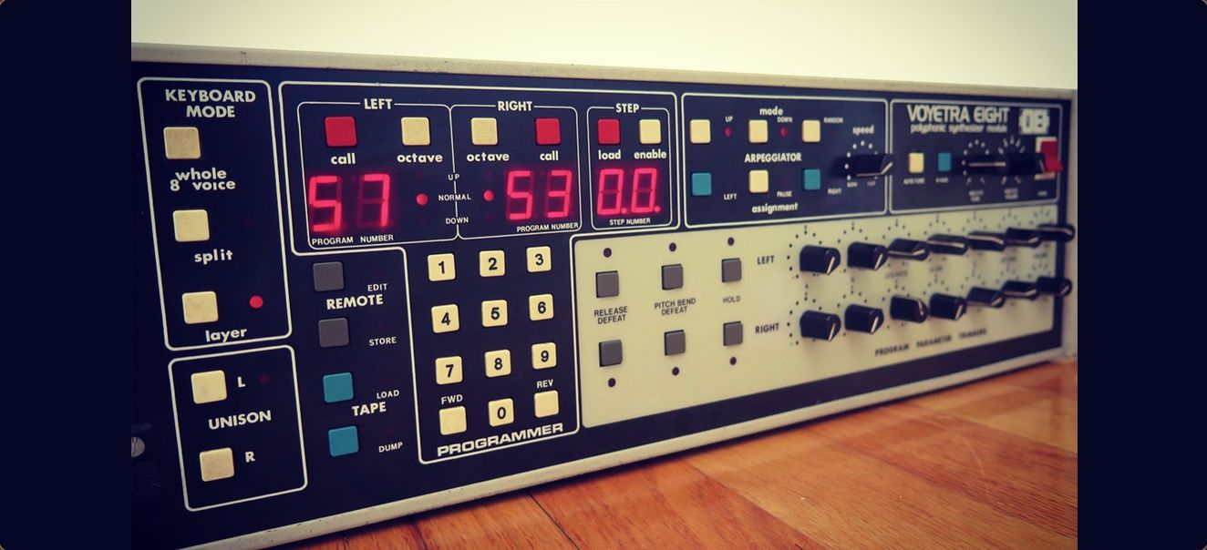 Get Samples From Mars FREE Voyetra Analog Synth Pack