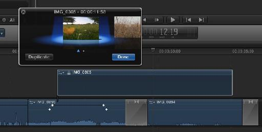 FCP X's new Auditions feature
