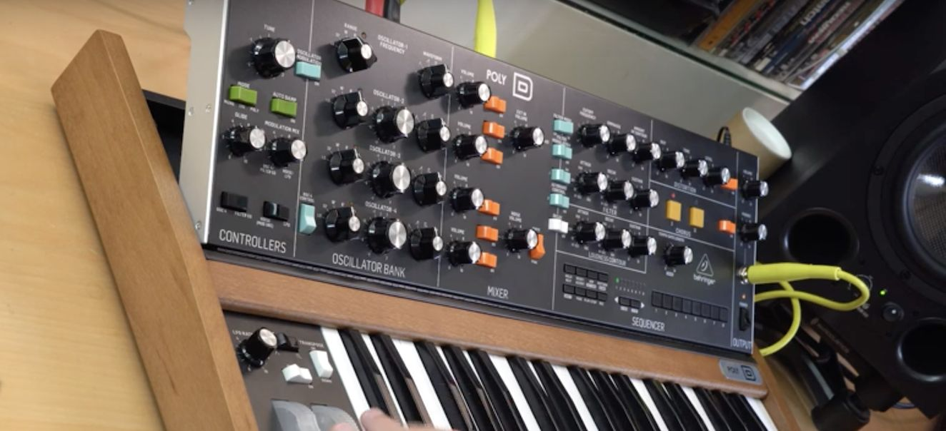 Watch Loopop Review Behringer Poly D Macprovideo Com Shop for the behringer poly d analog polyphonic synthesizer and receive free shipping on your order and the guaranteed lowest price. watch loopop review behringer poly d