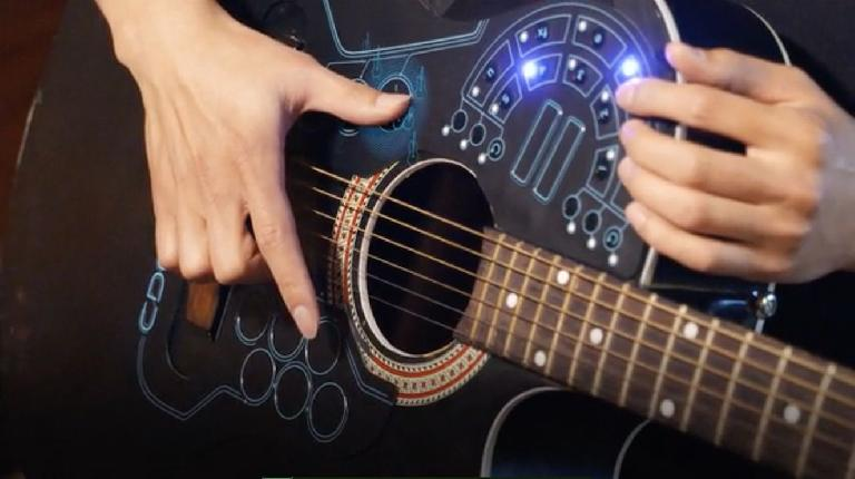 ACPAD the MIDI controller for acoustic guitars.