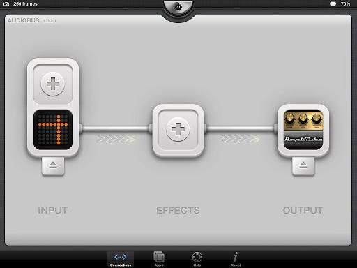 IK have added Audiobus support so Studio DAW can act as an input or output in a recording chain.