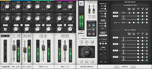 A nicely designed mixer app gives you much greater control over the unit's routing.
