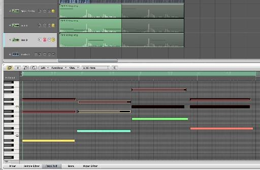 (Pic 3) Removing higher notes from the sequence.