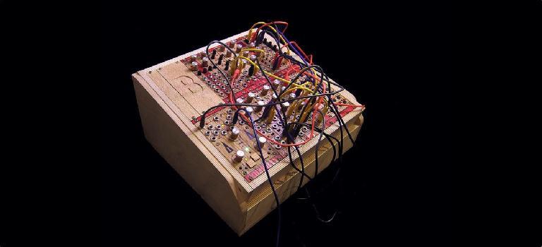 Bastl Instruments CV Trinity in a rack