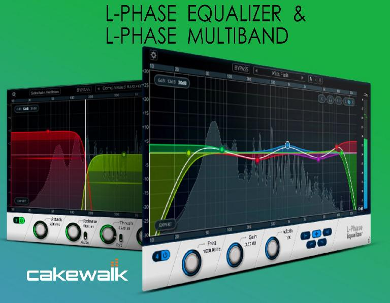 Cakewalk L-Phase Equalizer & L-Phase Multiband.
