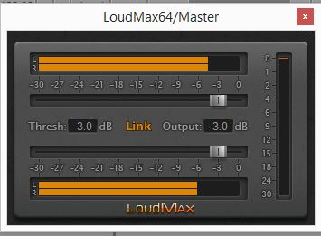 loudmax relative gain settings