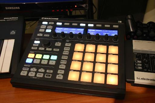 Things playing back nicely on the Maschine Mk2.