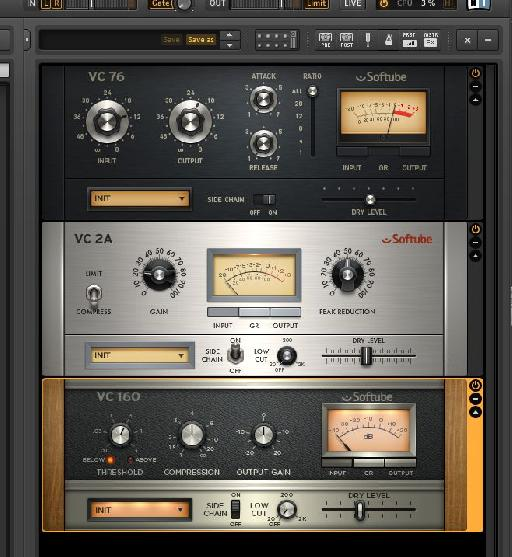 The parallel compression mode is available in all of the compressors
