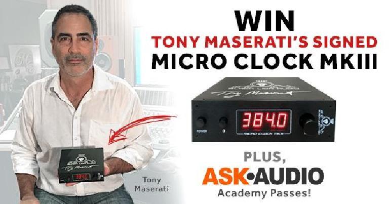 Black Lion Audio & Tony Masserati competition
