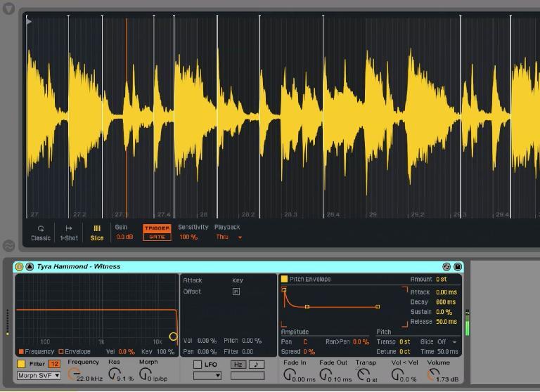 Ableton Live 9.5 Simpler