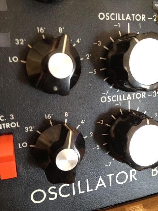 FIGURE 1: The nondescript oscillator frequency controls for the ARP.