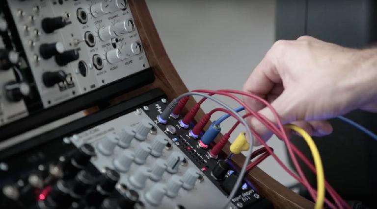 Novation Launch Control XL as a modular synth controller