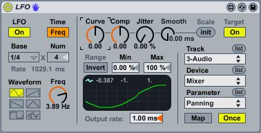 LFO (part of the Max For Live library). LFOs for your DAW!