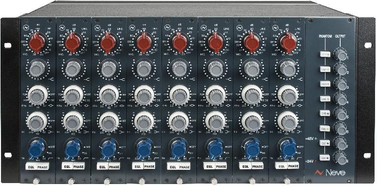 Fig 3 Neve 1073 preamp/EQs