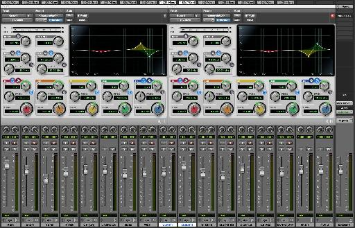 Two Tracks With Complementary EQ.