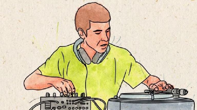 DJ Brace by Marilia Poggiali