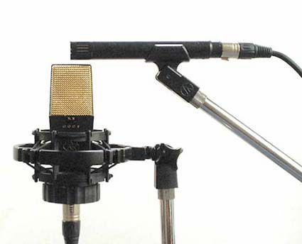 Middle and Sides mic technique.