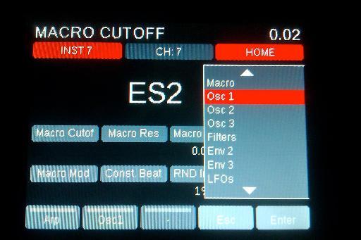 Nektar Panorama Logic Pro X ES2 instrument control shot 2.