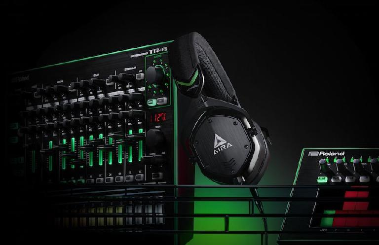 AIRA M-100 headphones: (AIRA TR-8 and TB-3 not included)