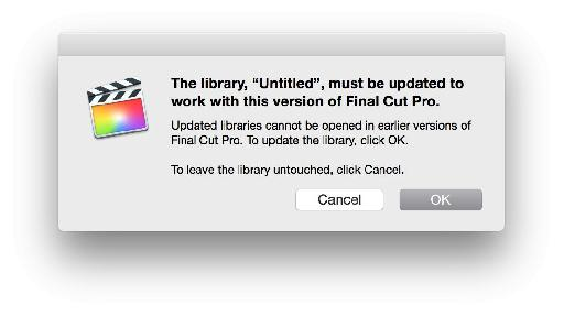 Make really sure you're not in the middle of a project when you upgrade, back up your old app and important libraries, and don't call them 'Untitled'.