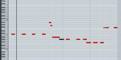 The original un-altered pattern in Logic