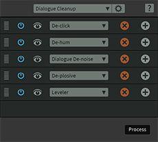 iZotope RX5 Audio Editor Module Chain